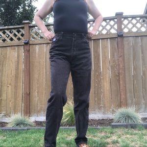 Vintage dark brown wrangler jeans